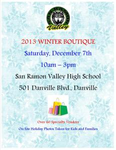 2013 Winter Boutique